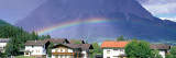 Rainbow Innsbruck Tirol Austria Photographic Print by  Panoramic Images