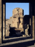 Ruins of Statues, Valley of the Kings, Luxor, Egypt Photographic Print