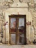 Closed Door of a Building, Syria Stampa fotografica