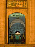 Entrance of a Mosque, Blue Mosque, Istanbul, Turkey Photographic Print
