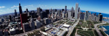 Aerial View of Buildings in a City, Chicago, Cook County, Illinois, USA Photographic Print by  Panoramic Images