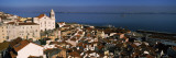 High Angle View of Buildings in a City, Alfama, Lisbon, Portugal Photographic Print by  Panoramic Images