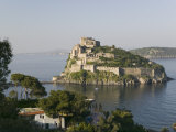 Castle on an Island, Castello Aragonese, Ischia, Naples, Campania, Italy Photographic Print