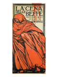 "Theatre Bill for ""La Cena Delle Beffe"" Giclee Print"