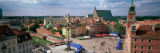 High Angle View of Warsaw, Poland Photographic Print by  Panoramic Images