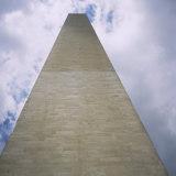 Low Angle View of a Monument, Washington Monument, Washington DC, USA Photographic Print