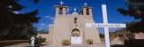 Cross in Front of a Church, San Francisco De Asis Church, Ranchos De Taos, New Mexico, USA Photographic Print by  Panoramic Images