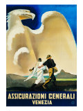 Assicurazioni Generali Venezia Giclee Print by Giovanni Segantini