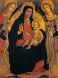 Madonna and Child Between St Apollonia and St Lucy Giclee Print