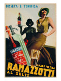 "Advertising Poster for ""Amaro Felsina Ramazzotti"" Giclee Print"