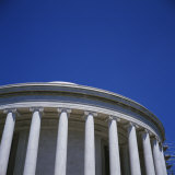 Low Angle View of a Building, Jefferson Memorial, Washington DC, USA Photographic Print