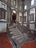 Laurentian Library in Florence Photographic Print