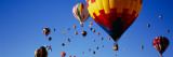 Hot Air Balloons at the International Balloon Festival, Albuquerque, New Mexico, USA Fotografie-Druck von  Panoramic Images