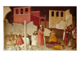 Pope St Sylvester's Miracle Scenes from the Life of Saint Sylvester: Miracle of the Dragon Giclee Print
