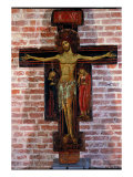 Painted Cross Premium Giclee Print by Cesare Tallone