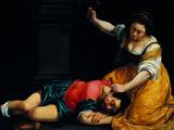Jael and Sisera Giclee Print by Demetrio Cosola