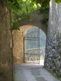 Gate of a Villa, Ravello, Salerno, Campania, Italy Photographic Print