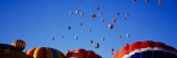 Hot Air Balloons at the International Balloon Festival, Albuquerque, New Mexico, USA Photographic Print by  Panoramic Images