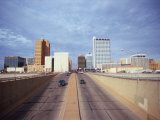 Cars on a Highway, Midland, Midland County, Texas, USA Photographic Print