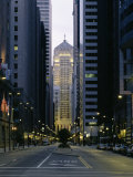 Buildings in a City, Lasalle Street, Chicago Board of Trade, Chicago, Illinois, USA Photographic Print