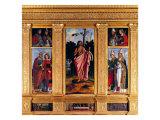 Polyptych of San Fior Di Sopra Giclee Print by Felice Giani