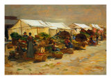 The Vegetable Market Giclee Print by Hayez Francesco