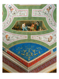Decoration of the Room of Ulysses in Palazzo Milzetti, Faenza Giclee Print by Leon Battista Alberti
