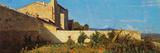 Garden in Castiglioncello Giclee Print by Raffaello Sernesi