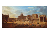 Rome, Piazza San Pietro Giclee Print by Guido Reni