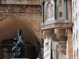 Outer Pulpit of St Lawrence Fotografisk tryk af Giusto De' Menabuoi