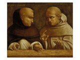 Albert the Great and Giovanni Duns Scotus Giclee Print by Bernardo Bellotto