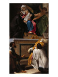Death of St Andrew Avellino Giclee Print by  Parmigianino