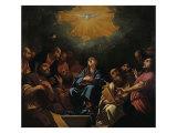 Pentecost Giclee Print by Hayez Francesco