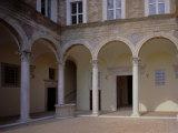 Palazzo Passionei Paciotti Photographic Print by Lorenzo Lotto
