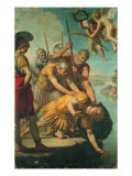 Martyrdom of St Secundus Giclee Print by Angelo Morbelli