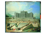 The Castle of Rivoli, According to the Plan by Filippo Juvarra Premium Giclee Print by Marcello Dudovich
