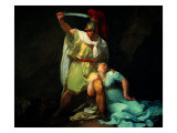 Radamisto Killing Zenobia Giclee Print by Bernardo Bellotto