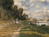 Basin at Argenteuil Giclee Print