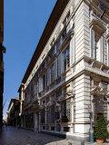 Palazzo Agostino Pallavicino in Strada Nuova in Genoa Photographic Print by Ivan Bilibin