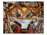 The Gonzaga Family Adoring the (Holy) Trinity Impression giclée