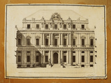Project of Ducal Palace in Genoa Giclee Print