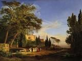 Villa D'Este in Tivoli Giclee Print