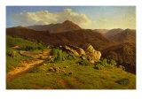 The Alps of Cusna Giclee Print