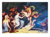 Mercury Trusts the Nymphs of Mount Nisa with the Infant Bacchus Giclee Print by Filippo Brunelleschi