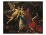 Angel Inspiring Judith Giclee Print by Francesco Zuccarelli