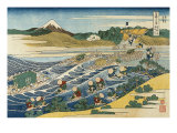 View of Mount Fuji from Kanaya on the Tokaido Giclee Print by Hermann Corrodi