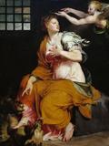 St Margaret Gicléetryck av Lorenzo Viani