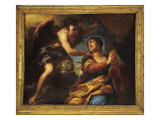 St Catherine Comforted by the Angel Giclee Print