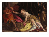 Joseph and Putiphar&#39;s Potiphar&#39;s Wife Giclee Print by Giovanni Boldini