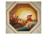 Apollo on the Chariot of Sun Giclee Print by Johannes Handschin